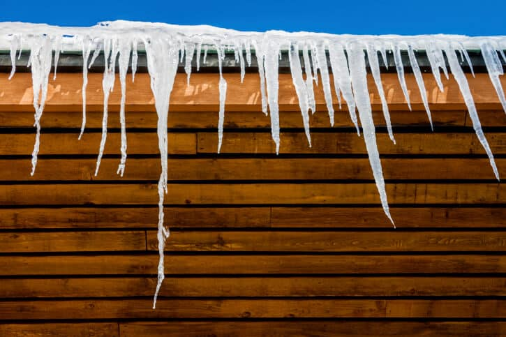 freezer cooler roof Icicles and Roof