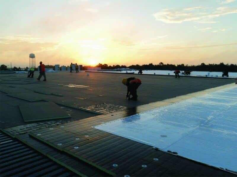 Mid-South Roof Systems Commercial Roof