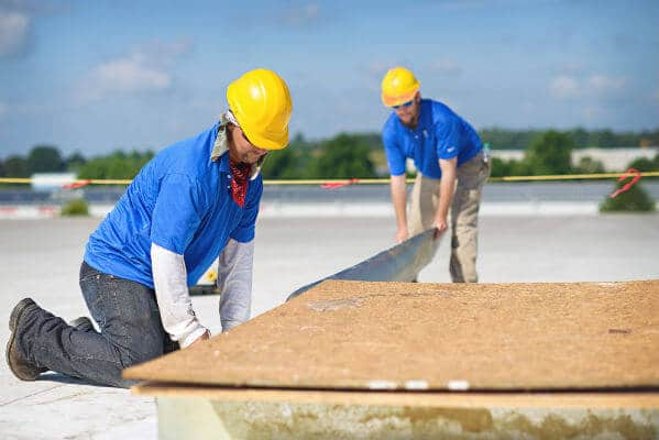 commercial roof HVAC
