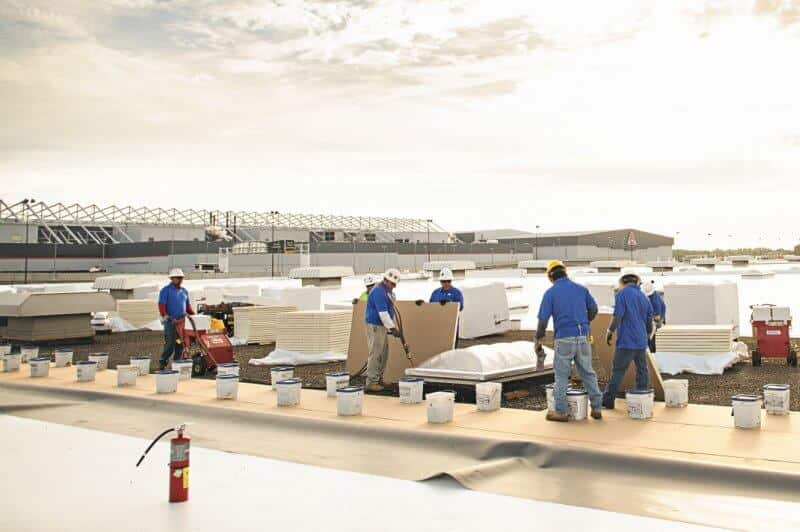 Mid-South Roof Systems roof maintenance