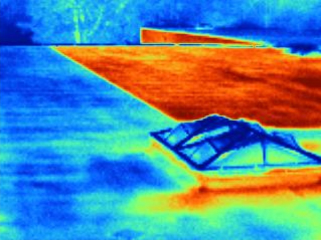 Mid-South Roof Systems thermal imaging